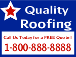 Quality Roofing Sign Template