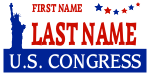 Political Sign Template Congress