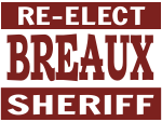 Political Yard Sign Template SHERIFF