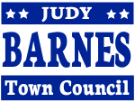 Political Yard Sign Template TOWN COUNCIL