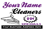 Dry Cleaners Yard Sign Template