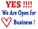 Yes We Are Open for Business 2C