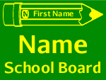 Campaign Sign Template School Board